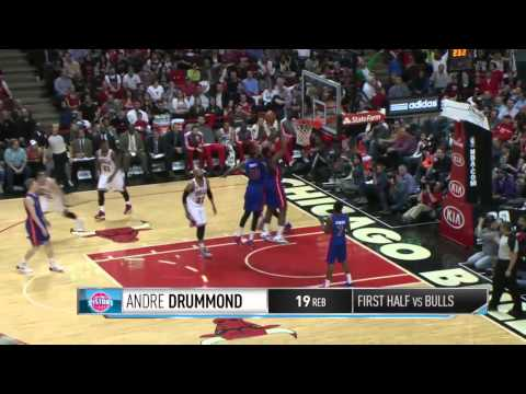 Detroit Pistons vs Chicago Bulls | April 11, 2014 | NBA 2013-14 Season