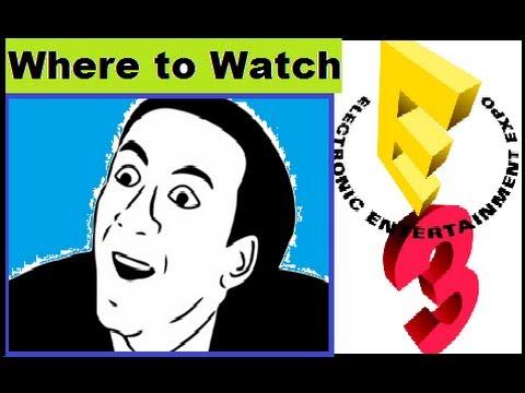 E3 2014 Live Stream: Where to Watch Sony, Microsoft, Ubisoft, Nintendo PS4 Xbox One Wii U