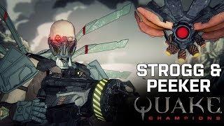 Quake Champions - Strogg & Peeker Story Trailer