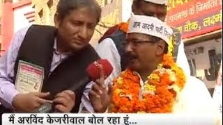 Ravish Kumar in Jhaadu Chalao Yatra of Arvind Kejriwal (NDTV Prime Time 28Nov13 Full Video)