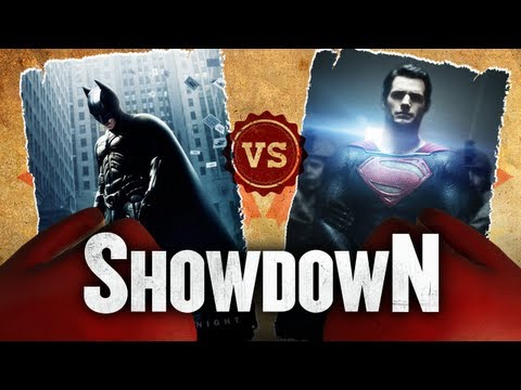 The Dark Knight vs. Man of Steel - Which Is The Better Superhero Movie? Showdown HD