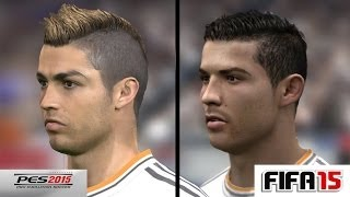 FIFA 15 Face Comparison PC VS XBOX VS PS3 VS PS4 By