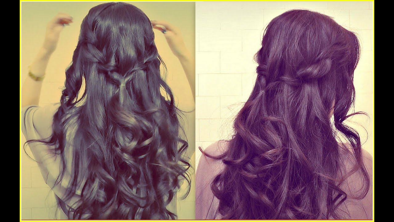 Loose Curls For Prom With Braid Images & Pictures - Becuo