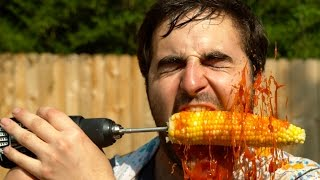 Corn Drill in Slow Motion - The Slow Mo Guys