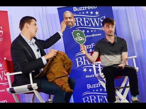 Daniel Radcliffe Plays The Sorting Hat Game
