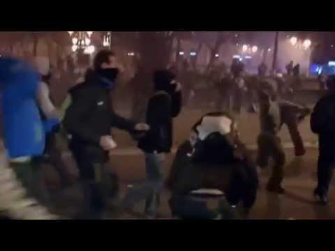 مدريد.. تظاهرات للتنديد بالأوضاع الاجتماعية