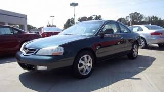 2001 Acura CL 3.2 Start up, Engine, and In Depth Tour