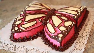 Tarta de Cumpleaños - Mariposa