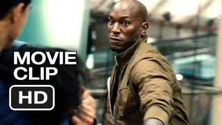 Fast & Furious 6 Movie Clip Waterloo Attack (2013) Vin