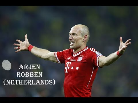 Brazil 2014 • Stars road to World Cup • Arjen Robben (Netherlands) ||HD||
