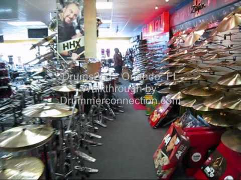 Drummer Video: Drums2Go - Orlando, FL - Video Walkthrough