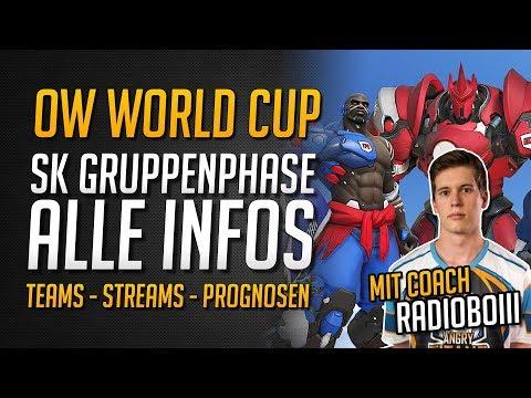 OWWC SÜDKOREA STAGE PREVIEW | Alle Infos plus Einschätzung von Coach Radioboiii ★ Overwatch Deutsch