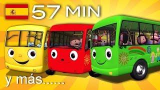 Canción infantil Las Ruedas del Autobús.