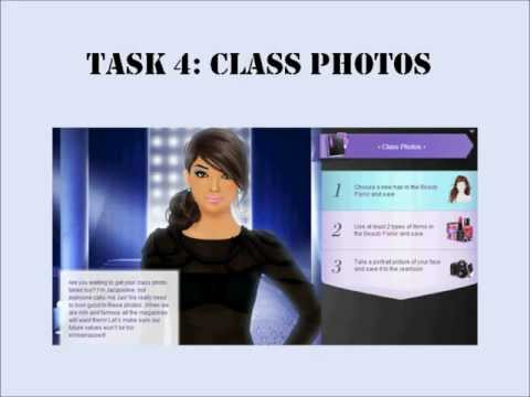 Stardoll Academy Walkthrough Task 4: Class Photos