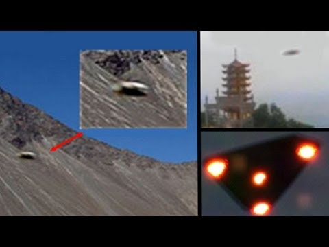 UFO Base in Hymalaya, Multiple UFO Events hidden by Government, China - India 2013