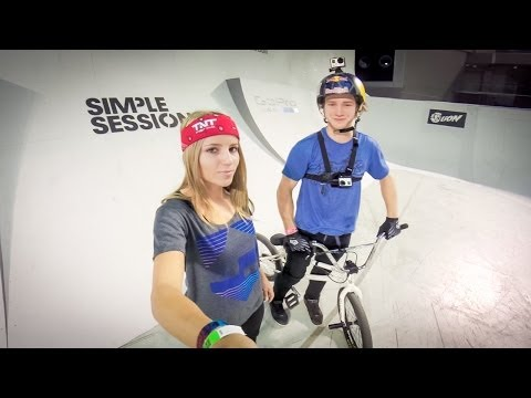 Simple Session '14 GoPro Course Preview with Drew Bezanson and Leticia Bufoni