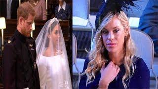 Trót đi ăn cưới tình xưa, người yêu cũ Hoàng tử Harry với loạt biểu cảm chua chát
