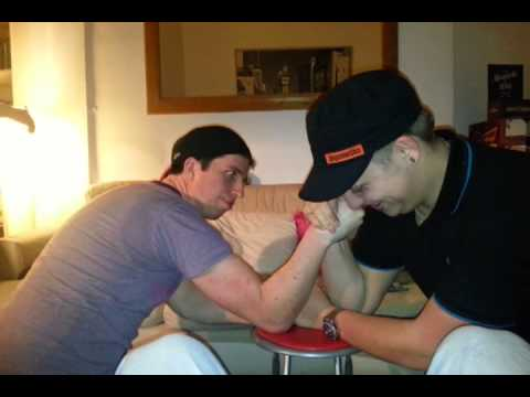 Irish arm wrestling