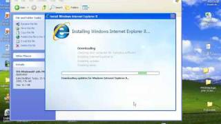 Download And Install Internet Explorer 8