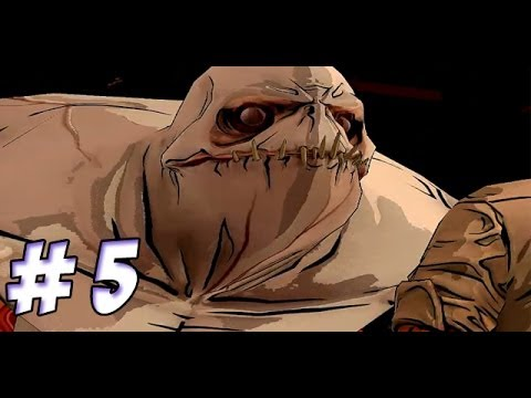 The Wolf Among Us - Episode 1: Faith HD Gameplay Walkthrough Part 5 The Giant Sperm !