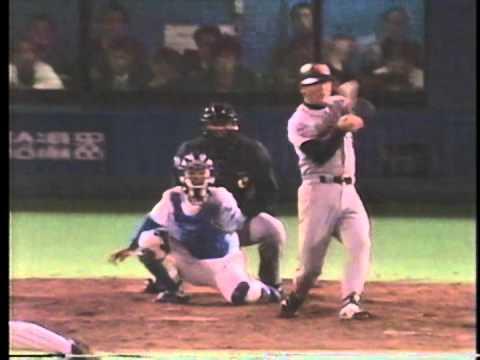 1994 盛田幸妃 1   VS 落合博満 最も苦手な投手との対戦