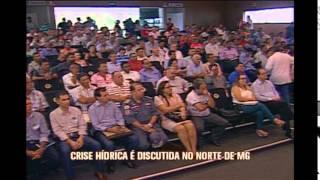 Presidente da Copasa se re�ne com prefeitos do Norte de Minas para discutir crise h�drica