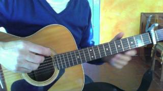 How To REALLY Play Norwegian Wood On Guitar Like The