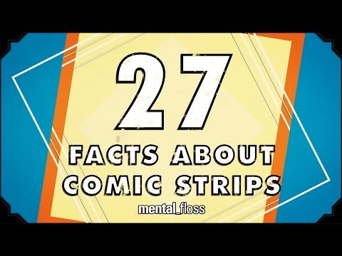27 AMAZING Facts About Comics - mental_floss on YouTube (Ep.49)
