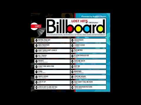 Billboard Lost Hits - 1983 (2016 Full Album)