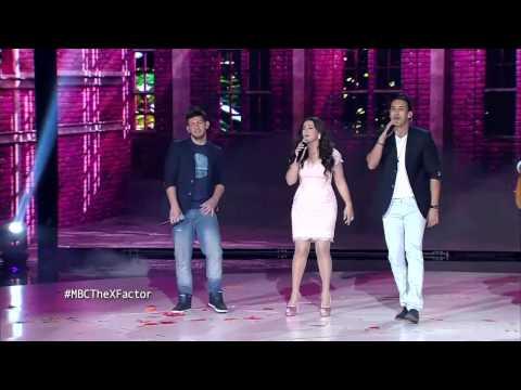 MBC The X Factor -The Five- دنيا سمير غانم -يوم عادي جدأ،الواد اللو، قصة شتا- العروض المباشرة