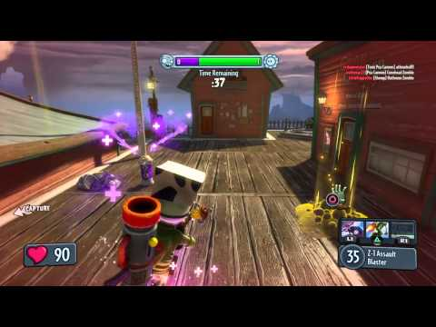 Plants vs Zombies Garden Warfare ban ca map