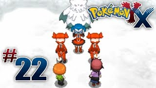 Let's Play Pokemon: X Part 22 Frost Cavern
