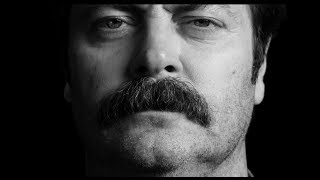 Nick Offerman: Great Moments in Moustache History