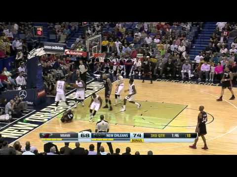 Miami Heat vs New Orleans Pelicans | March 22, 2014 | NBA 2013-14 Season