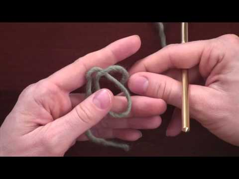 Crochet Basics: Creating a Slip Knot