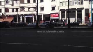 لحظة مرور الموكب الملكي من شارع محمد السادس بالبيضاء | زووم
