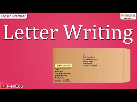 Letter Writing -6zIuaFGl_fY