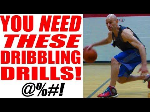 Basketball Drills For Point Guards! Ball Handling Drills | Snake
