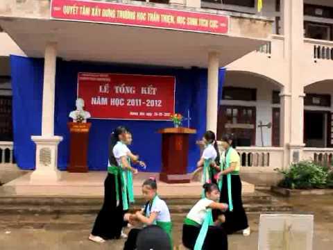 Múa dân tộc thái- THCS Noong hẻo- Lai châu.flv