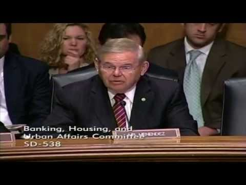 Sen. Menendez Asks HUD Nominee Castro Questions During Hearing