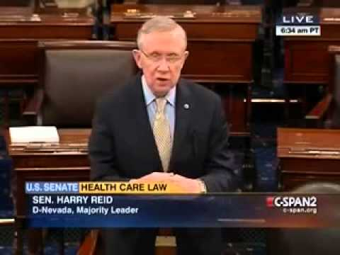 Harry Reid Denies All Obamacare 'Horror Stories'; 'All Are Untrue'