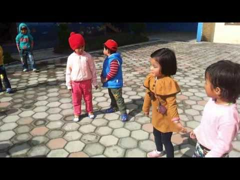 Kids Dancing In Nepali Songs(Toddlers Intl Pre School)