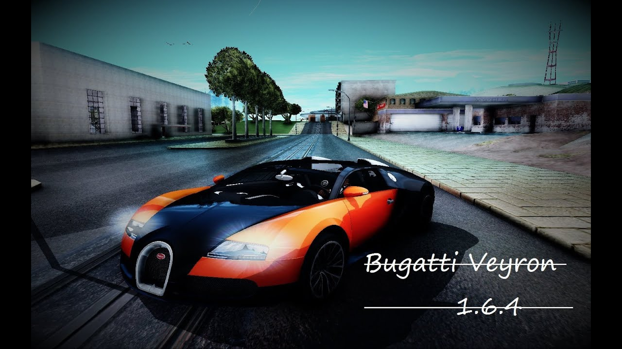 gta san andreas mod bugatti veyron 16 4 thundermax youtube. Black Bedroom Furniture Sets. Home Design Ideas