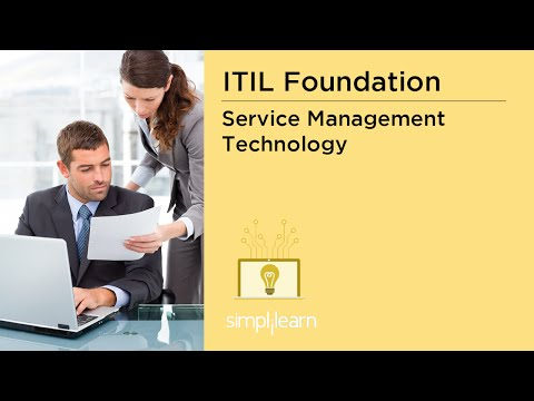 Simplilearn: Service Management Technology | Tools for Automation of Service Processes | ITIL  Prep