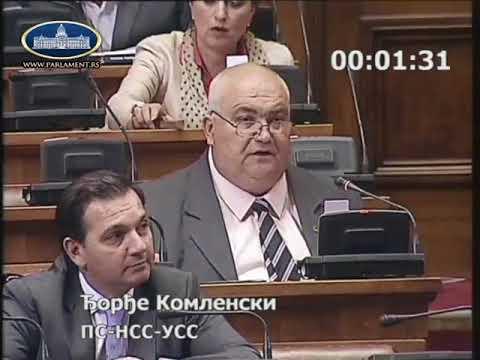 Ђорђе Комленски Параћинским буџетом против сопствене државе 18.6.2018.