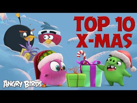 Angry Birds - Nejlepší vánoční momenty