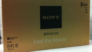 Sony Bravia 28inch LED TV Series- R412B Unboxing (INDIA
