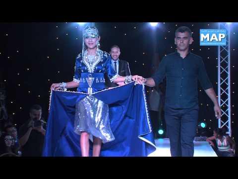 ملكة جمال الامازيغ بقفطان لالة سلطانة بمهرجان تيميزار