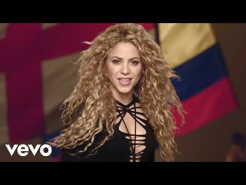 Shakira , La La La (Brazil 2014) ft. Carlinhos Brown