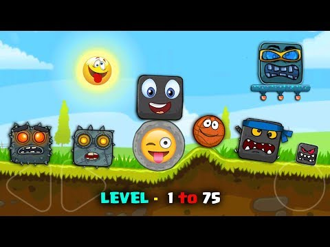 """RED BALL 4 - """"FUNNY SUPERSPEED"""" Level 1 to 75 with Basket Ball"""